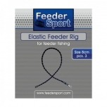 FeederSport Elastic Feeder Rig 8cm 3tk