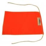 Märklipp 20x30cm oranž kinnituspaeltega