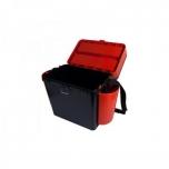 Kalastuskast HELIOS Fishbox 19l 50x32x25cm oranž/must max 210kg