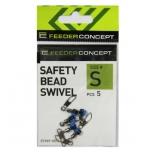 Karabiinid Feeder Concept Swiwel S 5tk