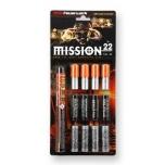 Stardipüstoli raketid Mission sortiment cal 15 22tk