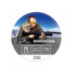 Õhkrelva kuulid BORNER Barracuda cal 4.5mm 0.7g 250tk