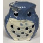 Küünlaalus Öökull marmor sinine