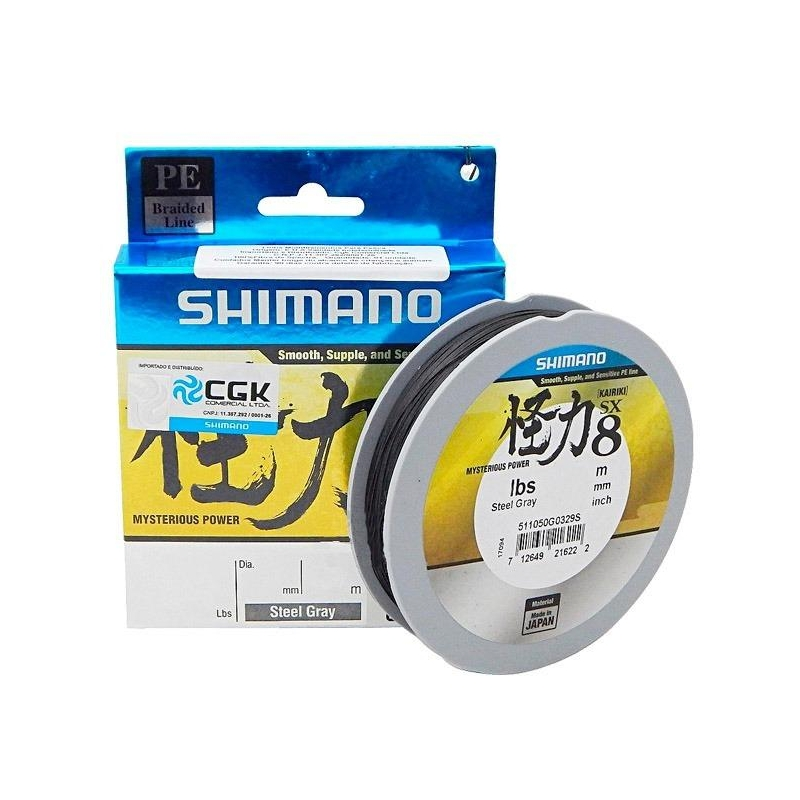 Nöör Shimano Kairiki PE VT hall 0.35mm 39.5kg 150m