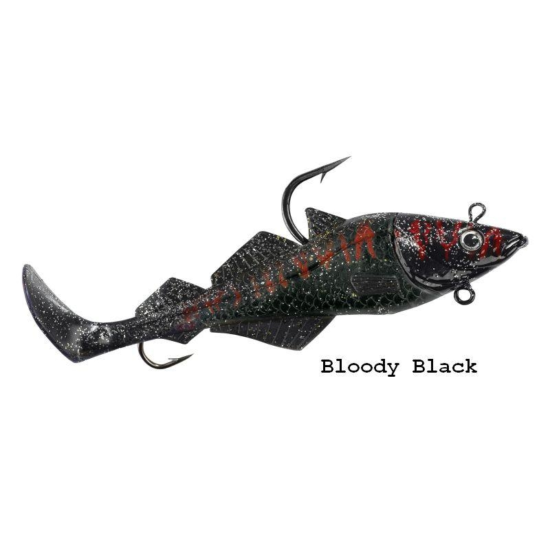 Komplekt BALZER MAD SHAD Bloody Black 200g 18cm