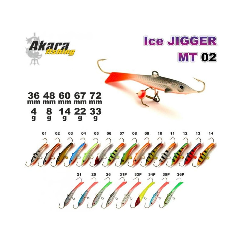 Talilant «Ice Jigger MT» 02 67mm 22g 14