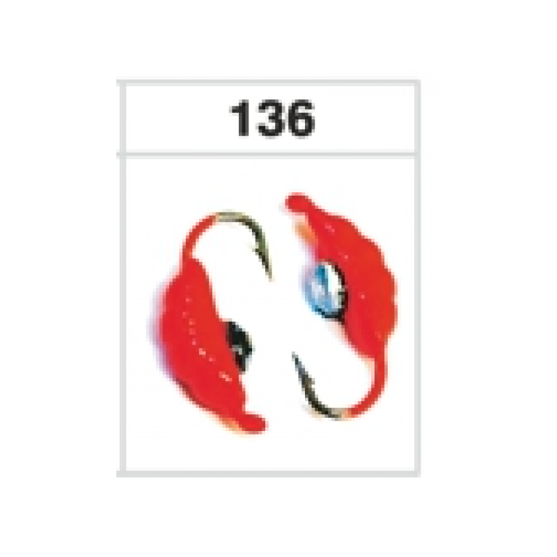 Mormishka GRUB 4250 136 (5mm, 1g) (102)