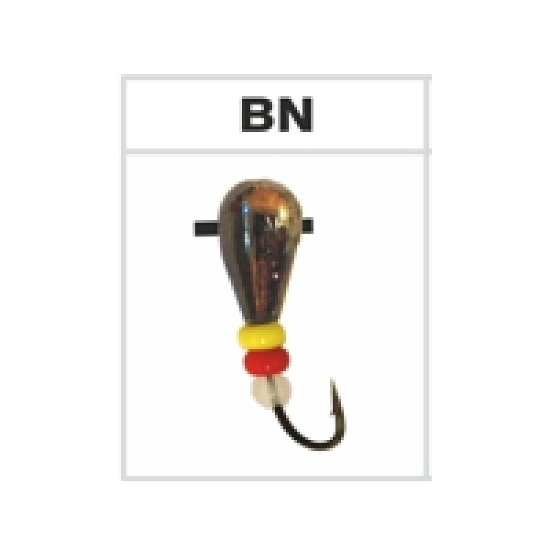 Mormishka beveled DROP 3740C BN (4mm, 1g) (32)