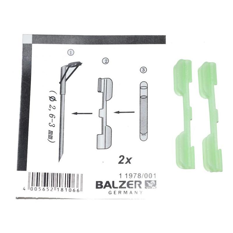 Valguspulga hoidja Balzer 2.6-3mm 2tk