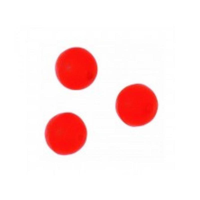 Pärlid Fluo neoonpunane 10mm 10tk