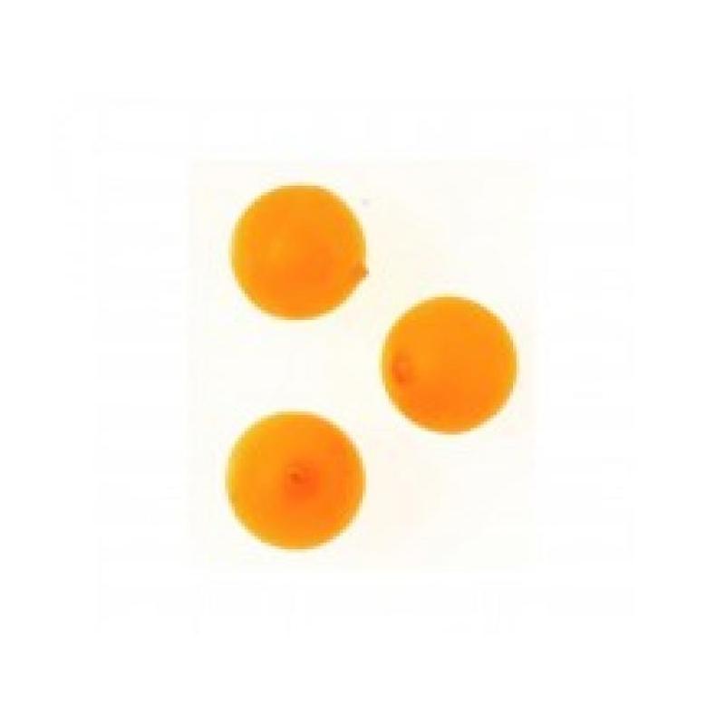Pärlid Fluo neoonoranž 10mm 10tk