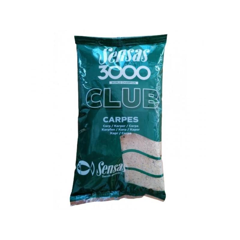 Sensas 3000 Club Karp & Suur kala (must) 1kg