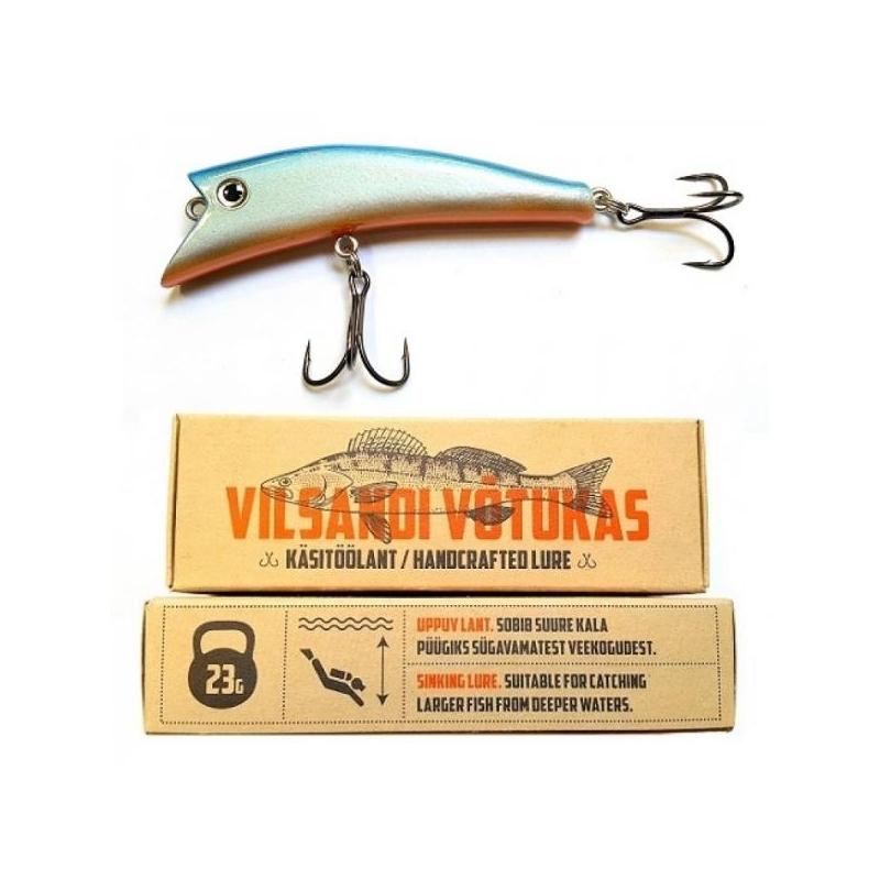 Vilsandi Võtukas VV08 Sinine-Oranž 23g 100mm