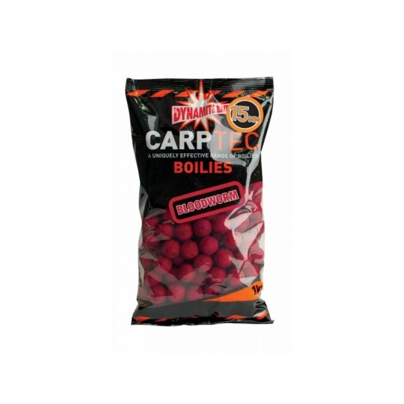 Boilid Carp-Tec Bloodworm 15mm 1kg