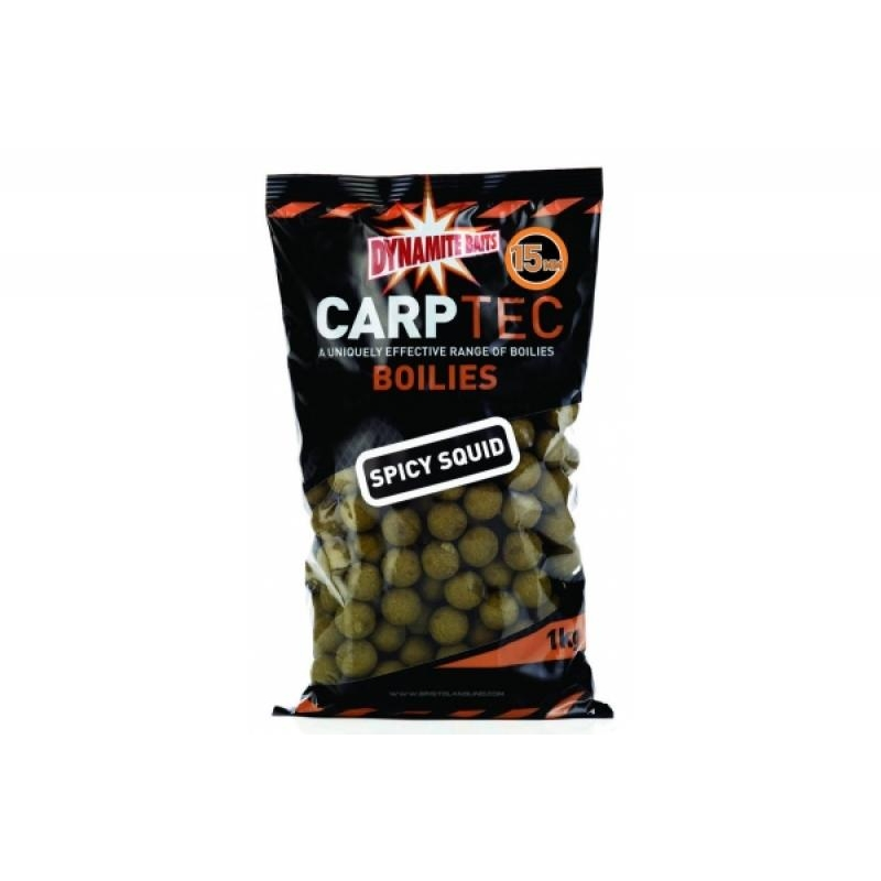 Boilid Carp-Tec Spicy Squid 15mm 1kg