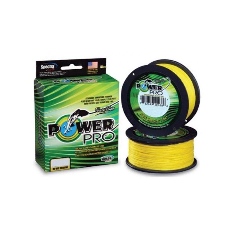 Nöör Power Pro 0.15mm 9kg 135m kollane