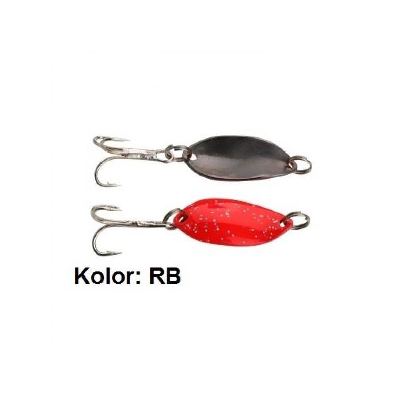 Trout Campione Mini 22mm 1.4g Red Glitter/Black