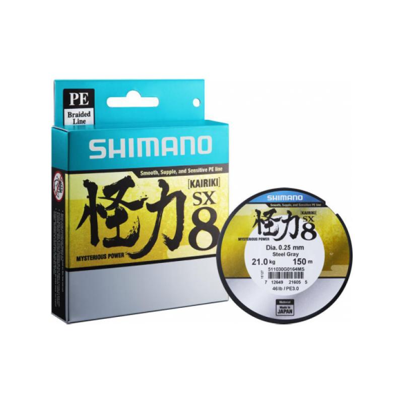Nöör Shimano Kairiki PE VT hall 0.19mm 12kg 150m