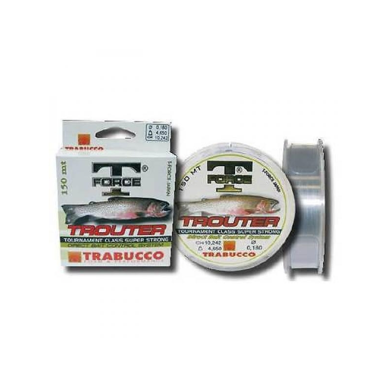 Tamiil Trabucco T-Force Trouter 0.255mm 8.46kg 150m
