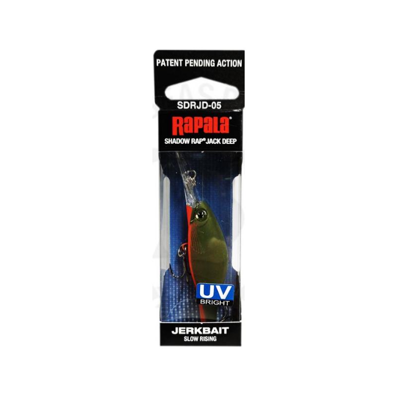 Rapala Shadow Rap Jack Deep GAU UV 5cm/6g kuni 3m