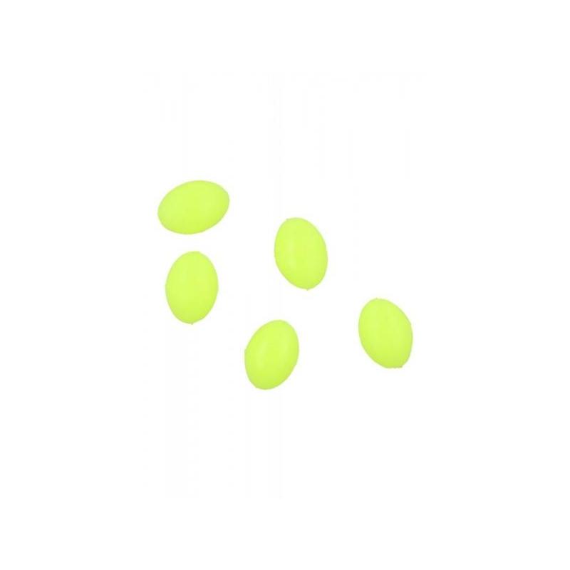 Pärlid Ellipsoid 4x6mm 0.8 Kollased 25tk