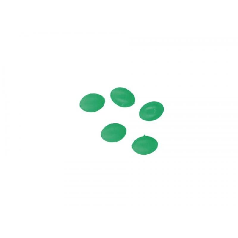 Pärlid Ellipsoid 6x8mm 1.2 Rohelised 25tk