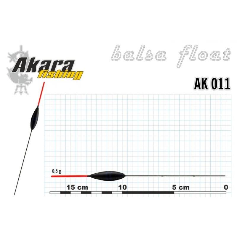 Ujuk Akara balsa 011 0.5g 17cm