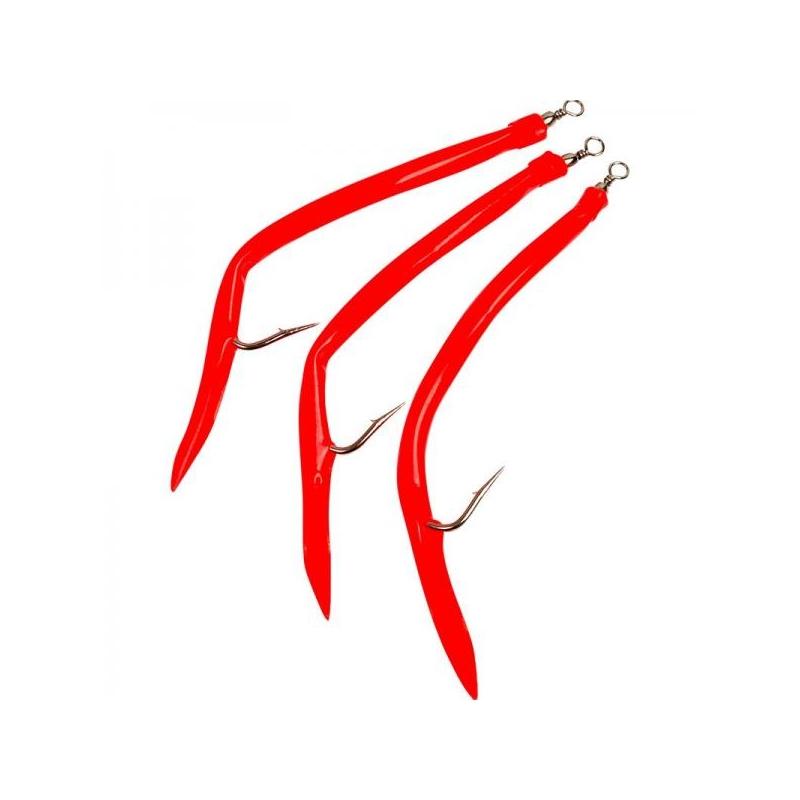 Piprad Rubber Mac #14/0 Red 3tk