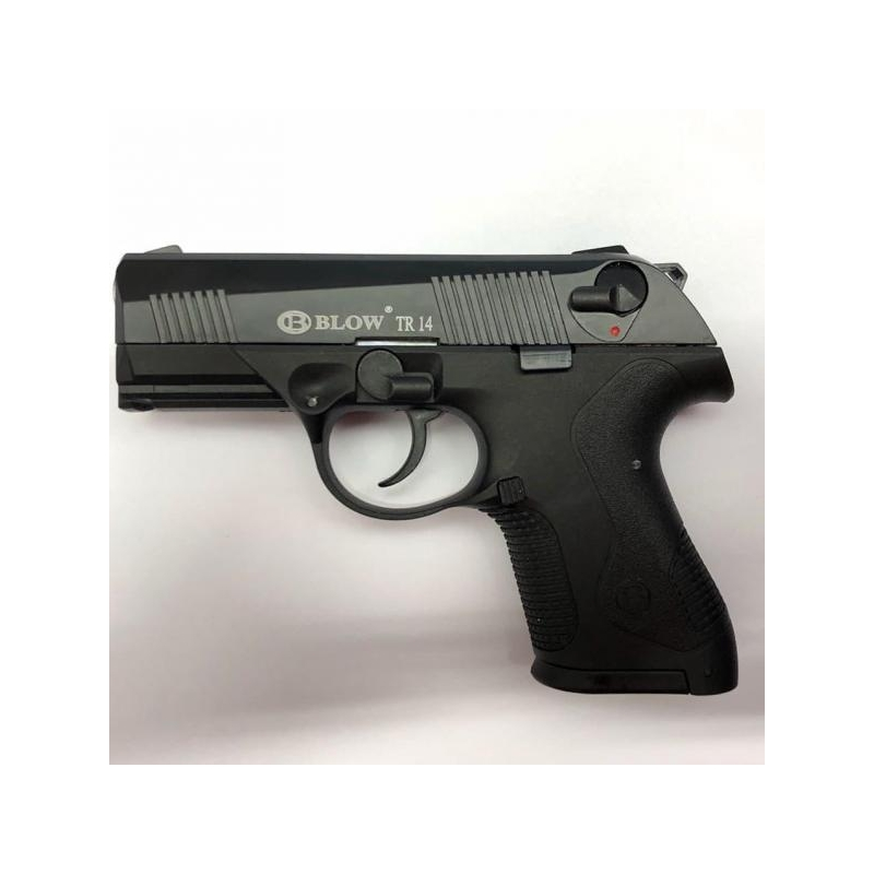 Stardipüstol BLOW i4 TR14 9mm must