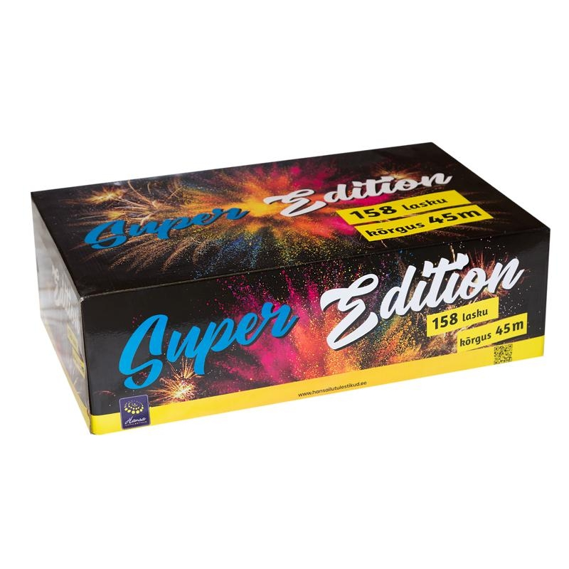 Patarei Super Edition 158 lasku 100sek 25mm