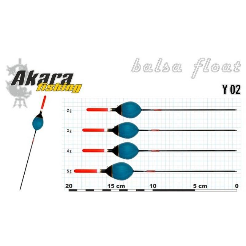 Ujuk Akara Balsa Y02 2g 18cm