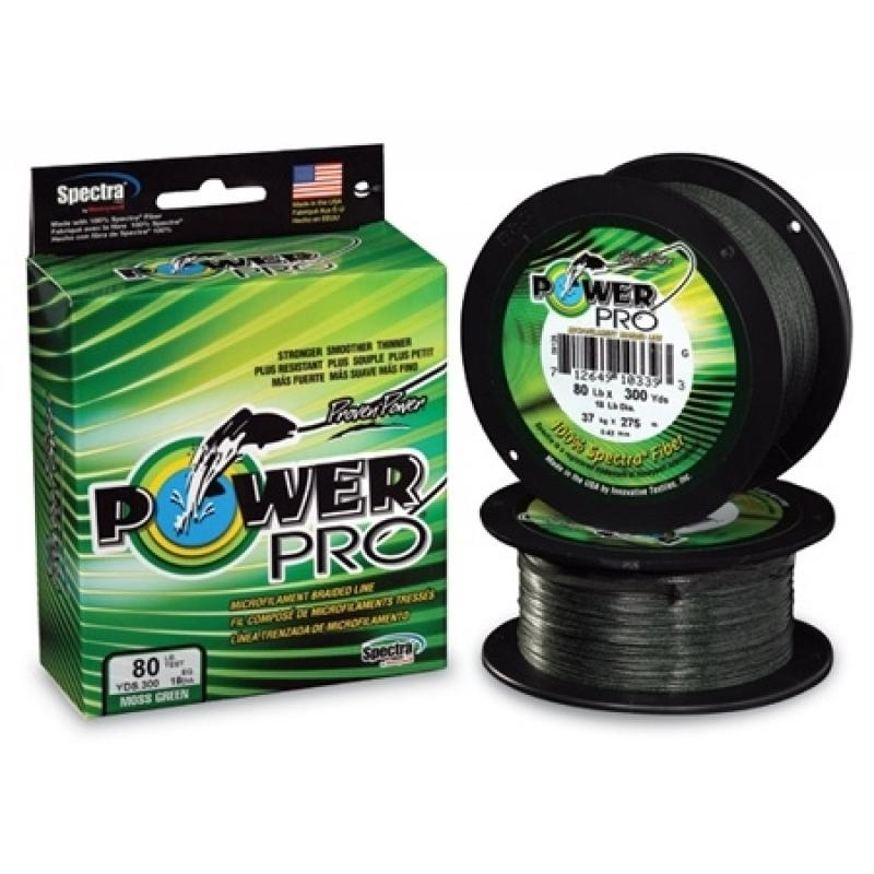 Nöör Power Pro 0.13mm 8kg 275m roheline