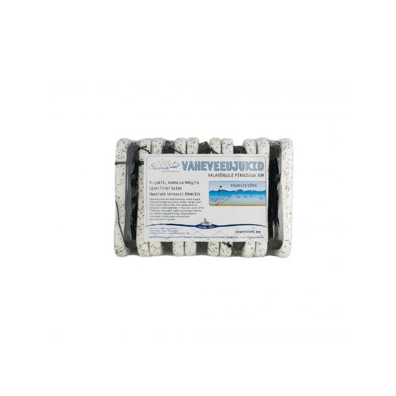 EPS34 Vaheveeujuk nööriga 5tk/komplekt