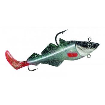 Komplekt BALZER MAD SHAD Coalfish Red Fin 400g 26cm
