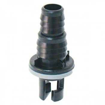 Adapter kummipaadi klapi ja vooliku vahele Ø17mm