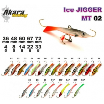 Talilant «Ice Jigger MT» 02 60mm 14g 12
