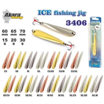 Talilant «Ice Jig» 3406 70mm 30g CU