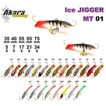 Talilant Ice Jigger 65mm 21g värv: 07