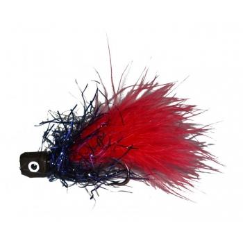 SpinTube Leech fl. red/black 10g