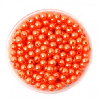 Pärlid 4mm punased 100tk