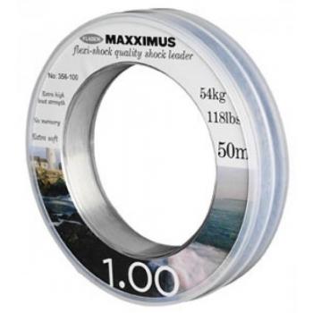 Maxximus Flexi-Shock leader 50m 0.80mm 35kg