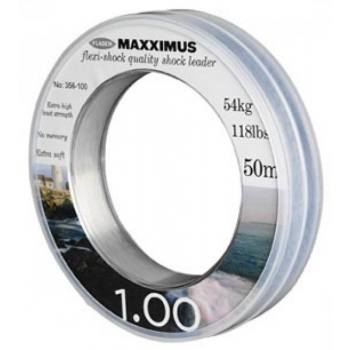 Maxximus Flexi-Shock leader 50m 1.20mm 76kg