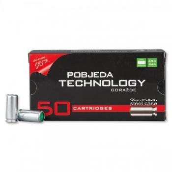 Paukpadrun Maxx Tech 9mm Steel Case Tsingitud 1tk