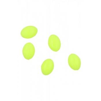 Pärlid Ellipsoid 6x8mm 1.2 Kollased 25tk
