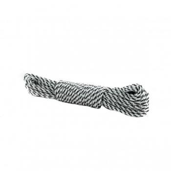PA/PES spiraalfall punutud köis 6mm KIRJU 10m