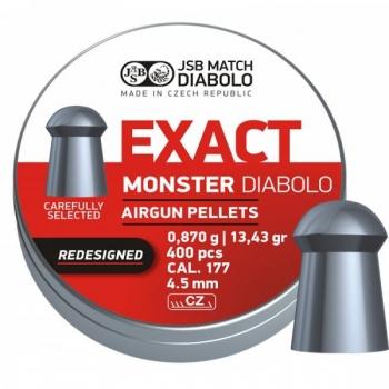 JSB Diabolo Exact Monster 0.87g 4.52mm 400tk