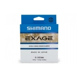 Shimano Exage 0.145mm 150m 1.8kg Steel Gray