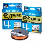 Nöör Shimano Kairiki 4 oranž 0.16mm 8.1kg 150m