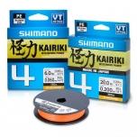 Nöör Shimano Kairiki 4 oranž 0.28mm 26kg 150m