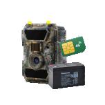 Rajakaamera WillFine 4G lai nurk komplekt akuga